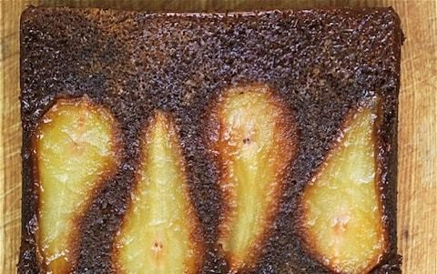 Pear and ginger cake recipe