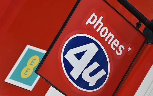Collapse of Phones 4U to cost taxpayer £78m