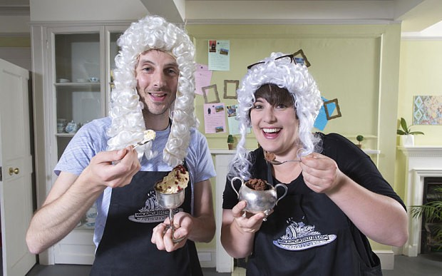 Would you eat ice cream from 300 years ago?