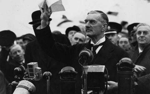 A curious tale of what Neville Chamberlain knew about Hitler's evil intentions at Munich