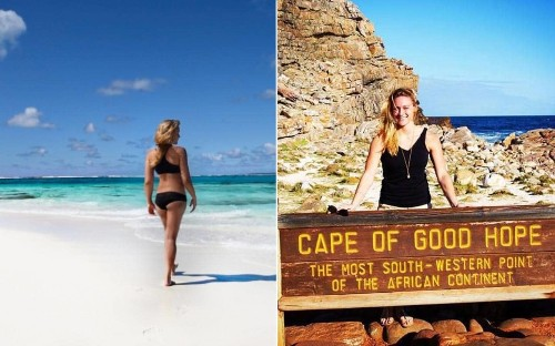 Meet the person about to become the youngest woman to visit every country in the world