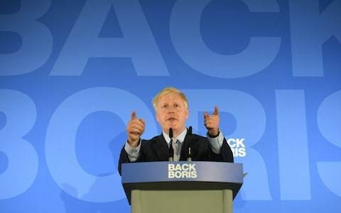 Boris is the only Tory who can lift the nation from its irrational gloom