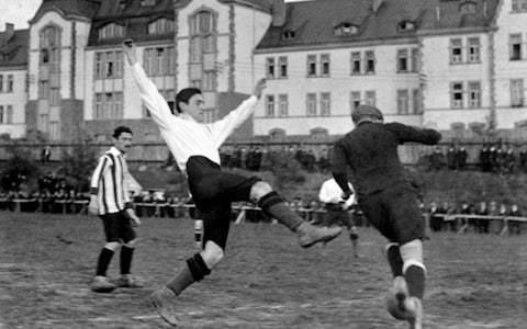 The imperishable story of Julius Hirsch: the great goalscorer murdered at Auschwitz who adorns Stamford Bridge mural