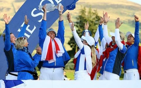 'What a way to do it': Dame Laura Davies shocked by retirement of Solheim Cup hero Suzann Pettersen