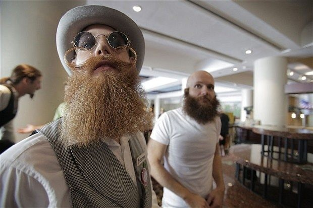 The beard is far from dead, as sales of shaving products continue to fall