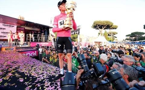 Chris Froome hits out at 'uneducated fans' and 'Twitter trolls' after spectacular Giro d'Italia triumph