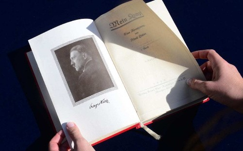 Mein Kampf, Adolf Hitler's Third Reich 'blueprint', a bestseller in Germany again