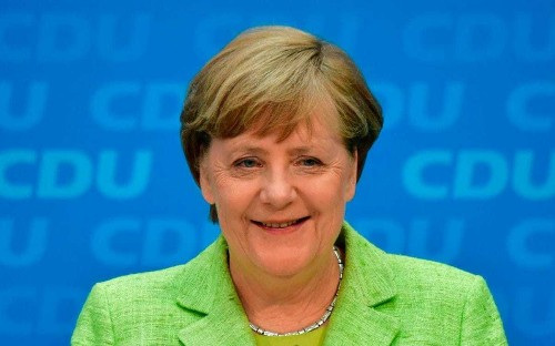 Angela Merkel says Europe can no longer rely on US or UK - and must 'fight for its own destiny'
