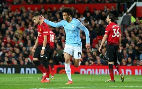 Leroy Sane gives disjointed Manchester United stark reminder of mountainous task they face to catch up
