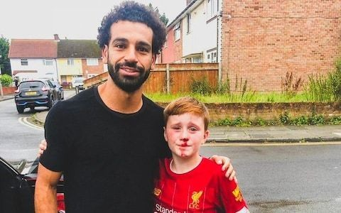 Mohamed Salah, a lampost and the extreme lengths fans go to meet their heroes