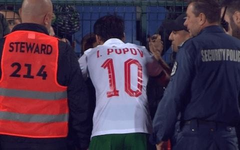 Bulgaria police confirm child was arrested after England players were racially abused in Sofia