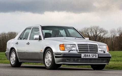 Rowan Atkinson to sell his Mercedes 500E – again