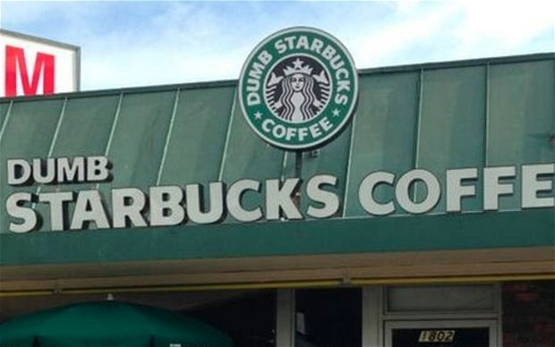 Mystery of 'Dumb Starbucks' coffee shop solved