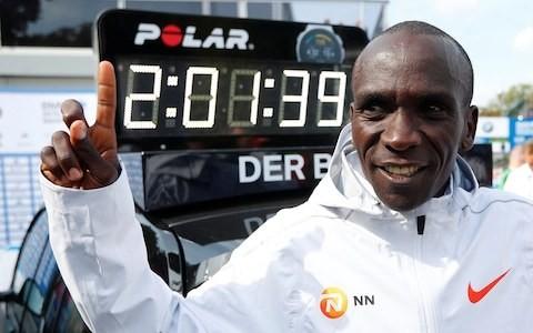 Eliud Kipchoge takes sub two-hour marathon quest to Vienna