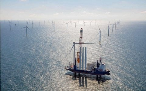 Rejoice: Britain's huge gamble on offshore wind has hit the jackpot