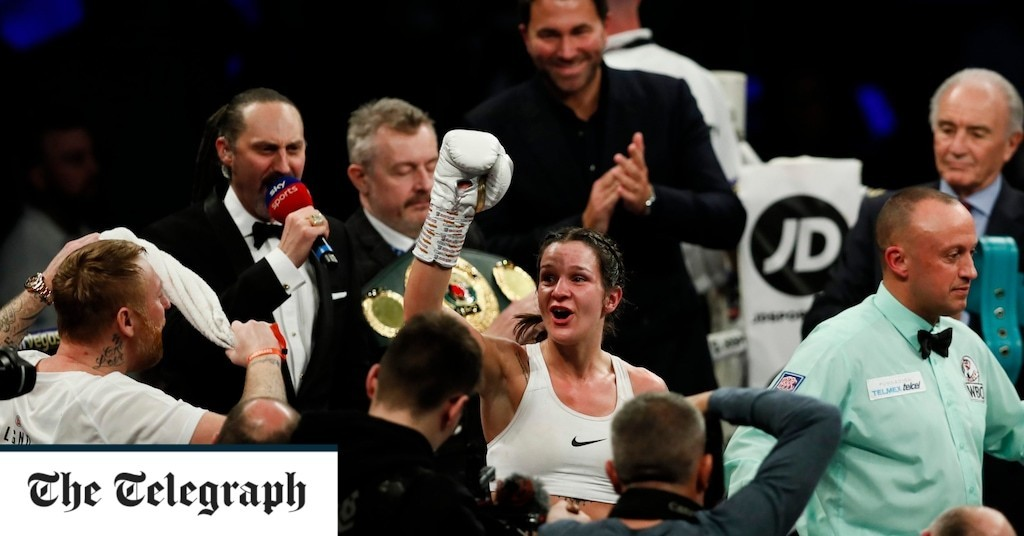 It has been clear over the years, that with the right protagonists, women's boxing can thrive