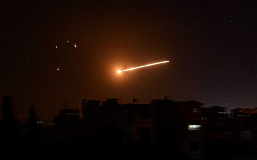 Israel kills two Palestinian jihadist fighters in airstrike on Damascus