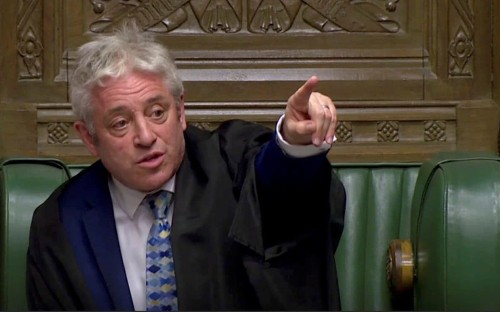 John Bercow suggested women MPs who complained about sexism were 'inadequate'