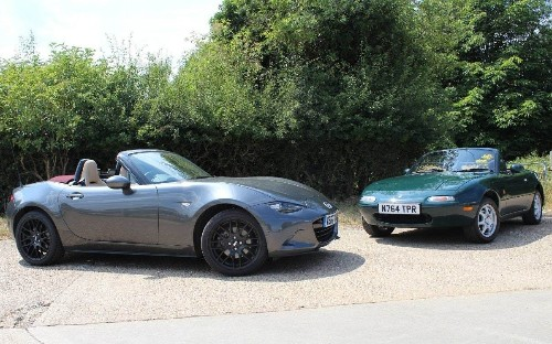 Mazda MX-5: original and latest examples of the world's bestselling roadster driven