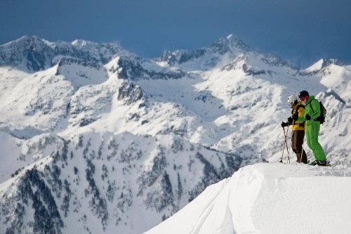 Backcountry skiing in one of Europe's most underrated resorts