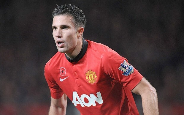 Robin van Persie ruled out of Manchester United's Champions League match at Bayer Leverkusen