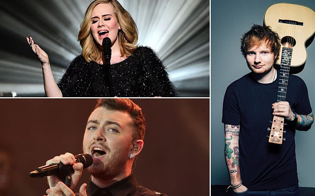 UK artists sell a third of top 40 best-selling albums worldwide