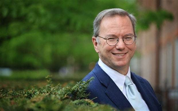 Eric Schmidt interview: 'You have to fight for your privacy or you will lose it'