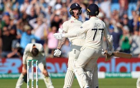 England enter fourth day with belief