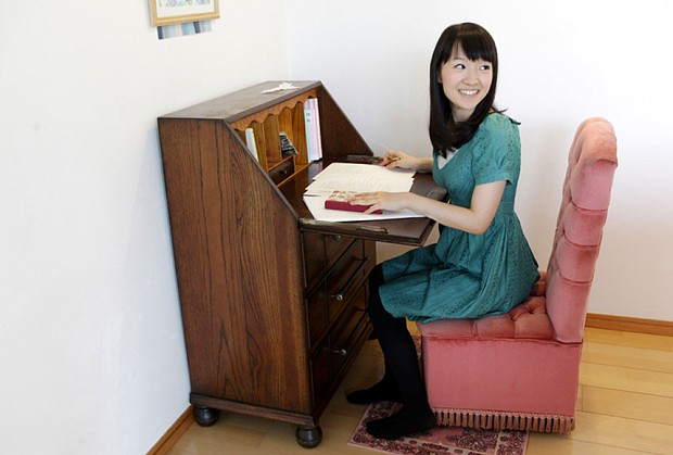 Japan's decluttering guru says she is on a mission to 'organise the world'