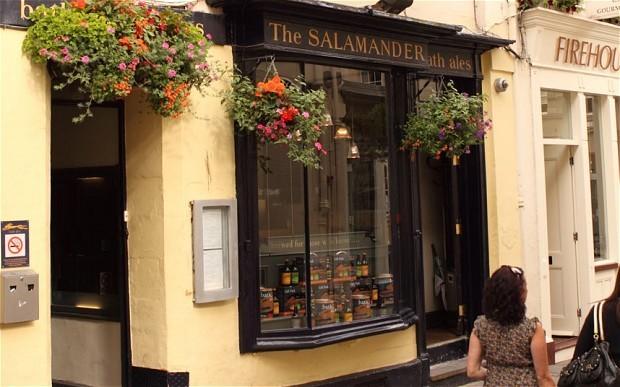 Pint to pint: The Salamander, Bath