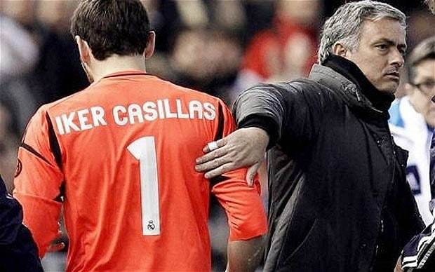 Iker Casillas: I bear no grudges towards new Chelsea manager Jose Mourinho for treatment at Real Madrid