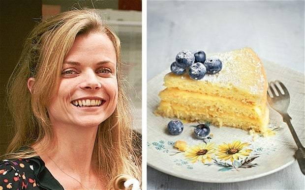 My favourite dish: Tonia George's lemon curd layer cake