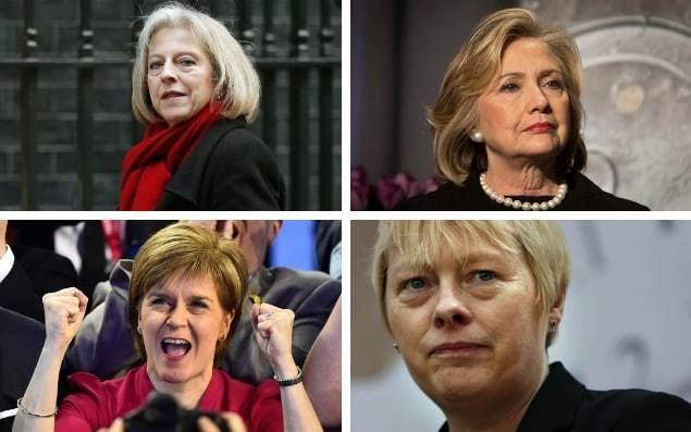 The women are coming - welcome to the new female face of politics