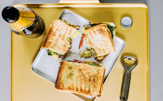 Mumbai spiced cheese toastie recipe