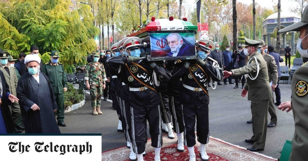 Iran's assassinated scientist awarded martyr status at full state funeral