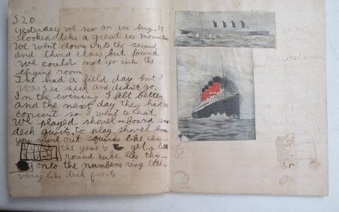 Ernest Hemingway's first work of fiction which he wrote aged 10 found in freezer bag
