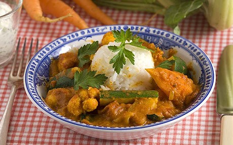 Chicken curry with cardamom recipe