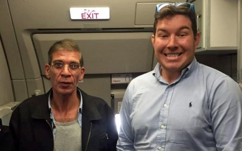 Being unafraid 'defeats terrorist agenda', says Briton who posed for with plane hijacker