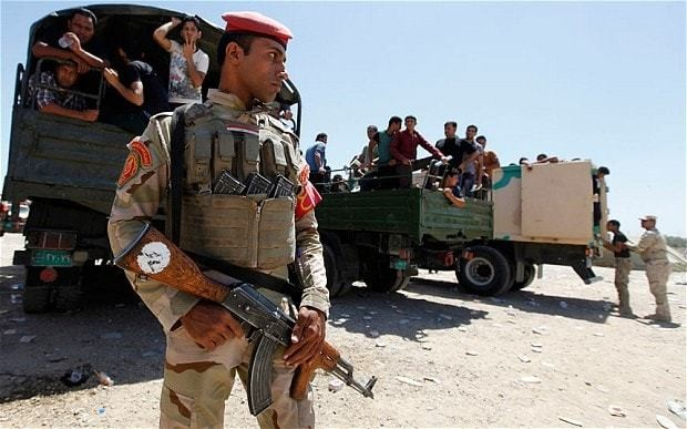 Iraq crisis: Shia forces accused of sectarian massacre at prison
