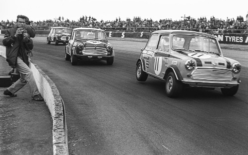 60 years of the Mini celebrated at Silverstone Classic 2019