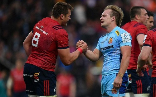 Exeter's draw with Munster was free from histrionics or hysteria - a rare rugby treat