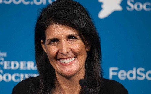 Trump picks South Carolina governor Nikki Haley for UN ambassador, first woman in new administration