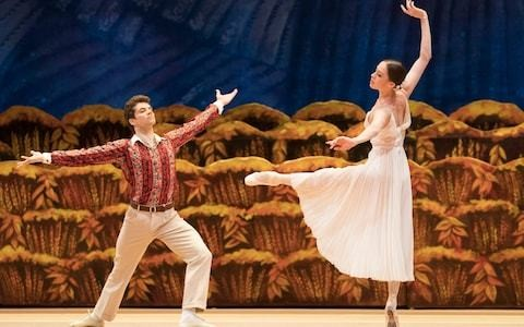 The Bright Stream, Bolshoi, Royal Opera House review: the ballet that shamed Shostakovich is just the thing for a summer's evening