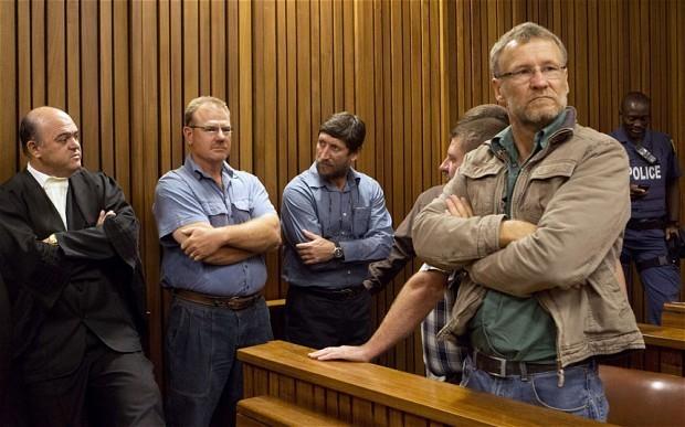 White supremacists jailed for 35 years over Nelson Mandela assassination plot