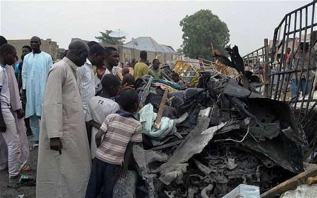 Islamic extremists kill at least 90 in northeast Nigeria