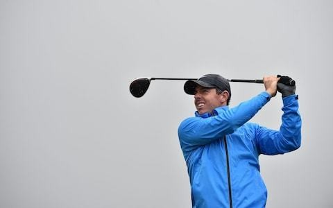 Royal Portrush bares teeth as Open field faces weather test