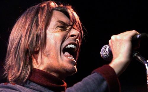 David Bowie: 'I let my imagination run wild'
