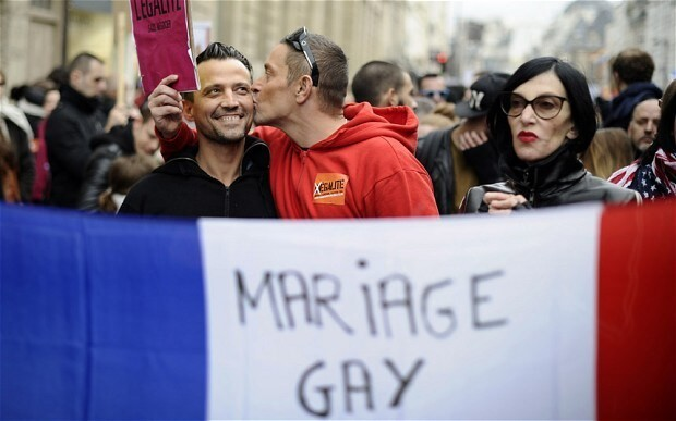 France legalises gay marriage