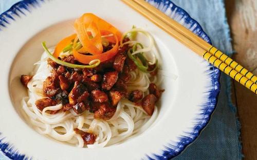 Pork and glass-noodle salad