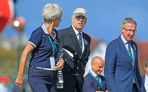 Prince Andrew in heated 'disagreement' with royal aide